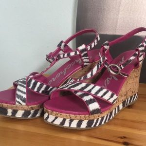 Sketchers Fashion Wedges in Animal Print